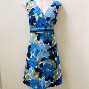Croft & Barrow Stretch Floral Dress Sz 1X